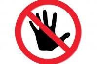 Verboden om je vinger op te steken